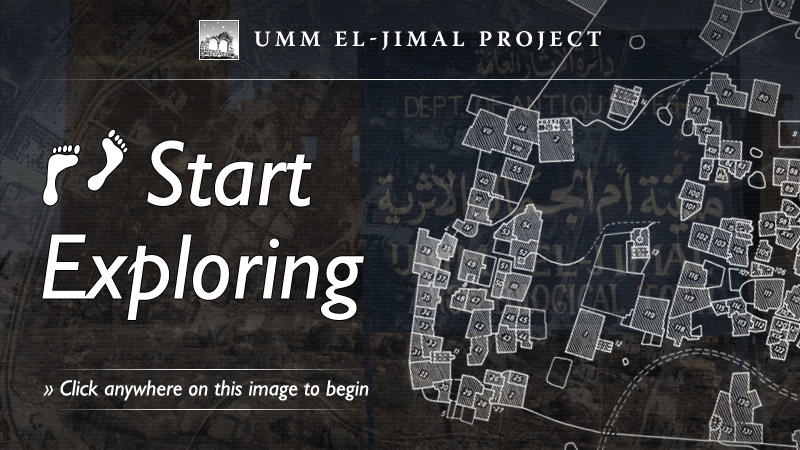 Main image: Link to the Umm el-Jimal Virtual Tour.